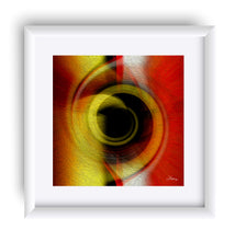 "Load image into Gallery viewer, ""Temporal Vortex 6"" Matted Fine Art Print"