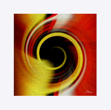 "Load image into Gallery viewer, ""Temporal Vortex 8"" Matted Fine Art Print"