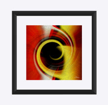 "Load image into Gallery viewer, ""Temporal Vortex 10"" Matted Fine Art Print"