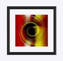 "Load image into Gallery viewer, ""Temporal Vortex 7"" Matted Fine Art Print"