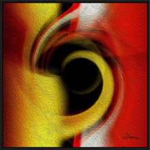"Load image into Gallery viewer, ""Temporal Vortex 1"" Fine Art Canvas"