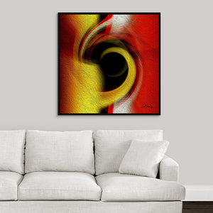 """Temporal Vortex 1"" Fine Art Canvas"