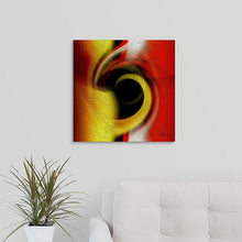 "Load image into Gallery viewer, ""Temporal Vortex 1"" Fine Art Metal Print"