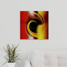 "Load image into Gallery viewer, ""Temporal Vortex 2"" Fine Art Metal Print"