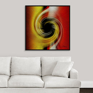 """Temporal Vortex 3"" Fine Art Canvas"