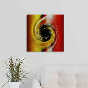 """Temporal Vortex 3"" Fine Art Metal Print"