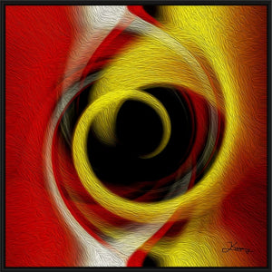 """Temporal Vortex 4"" Fine Art Canvas"