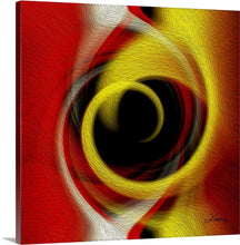 "Load image into Gallery viewer, ""Temporal Vortex 4"" Fine Art Canvas"