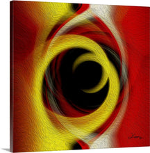"Load image into Gallery viewer, ""Temporal Vortex 5"" Fine Art Canvas"