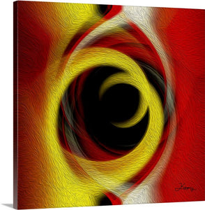 """Temporal Vortex 5"" Fine Art Canvas"