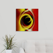 "Load image into Gallery viewer, ""Temporal Vortex 5"" Fine Art Metal Print"
