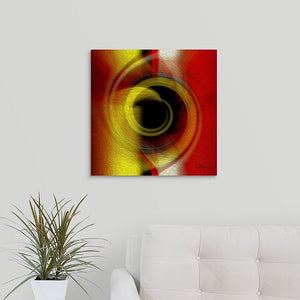 """Temporal Vortex 6"" Fine Art Metal Print"