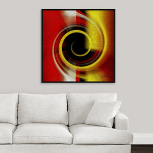 """Temporal Vortex 9"" Fine Art Canvas"