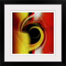 "Load image into Gallery viewer, ""Temporal Vortex 1"" Framed Fine Art Expression"