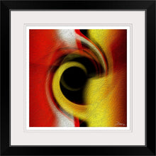 "Load image into Gallery viewer, ""Temporal Vortex 2"" Framed Fine Art Expression"