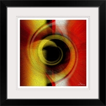 "Load image into Gallery viewer, ""Temporal Vortex 6"" Framed Fine Art Expression"