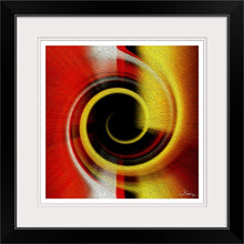 "Load image into Gallery viewer, ""Temporal Vortex 9"" Framed Fine Art Expression"