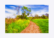 "Load image into Gallery viewer, ""The Path That Lies Ahead"" Matted Fine Art Print"