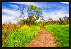"""The Path That Lies Ahead"" Fine Art Canvas"