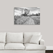 "Load image into Gallery viewer, ""The Path That Lies Ahead - BW"" Fine Art Acrylic"