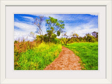 "Load image into Gallery viewer, ""The Path That Lies Ahead"" Framed Fine Art Expression"