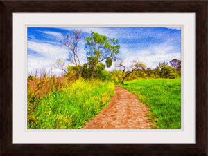 """The Path That Lies Ahead"" Framed Fine Art Expression"