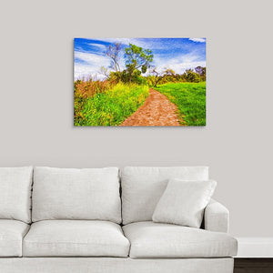 """The Path That Lies Ahead"" Fine Art Metal Print"