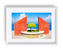 "Load image into Gallery viewer, ""Tranquil Surroundings in Manzanillo, Colima"" Matted Fine Art Print"