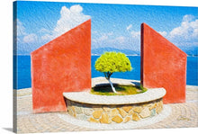 "Load image into Gallery viewer, ""Tranquil Surroundings"" - Manzanillo, Colima Fine Art Canvas"