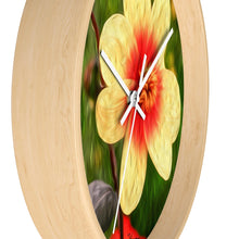 "Load image into Gallery viewer, ""Morning Dew 1"" 10"" Fine Art Wall Clock"