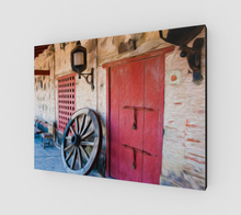 "Load image into Gallery viewer, ""Castillo San Felipe De Barajas Fort I"" Fine Art Canvas"