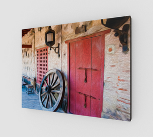 """Castillo San Felipe De Barajas Fort I"" Fine Art Canvas"