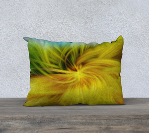 """Whimsical Twirl"" 20""x14"" Fine Art Pillow Case"