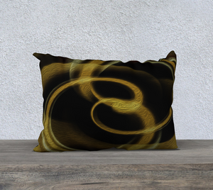 """Dimensional Paradox 4"" 20""x14"" Fine Art Pillowcase"