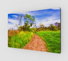 "Load image into Gallery viewer, ""The Path that Lies Ahead II"" Fine Art Canvas"