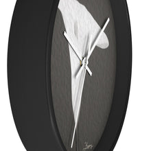 "Load image into Gallery viewer, ""Emerging Light of the Lily"" 10"" Fine Art Wall Clock"
