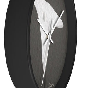 """Emerging Light of the Lily"" 10"" Fine Art Wall Clock"