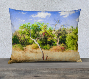 """A Place of Serenity 3"" 26""x20"" Fine Art Pillow Case"
