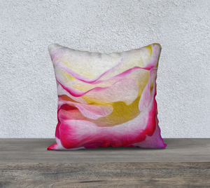 """Never Ending Layers"" 18""x18"" Fine Art Pillow Case"