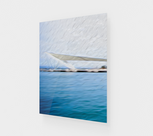 "Load image into Gallery viewer, ""The Pier in San Juan, Puerto Rico"" Fine Art Acrylic Print - Multi-Panel 1 of 3"