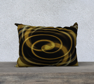 """Dimensional Paradox 6"" 20""x14"" Fine Art Pillowcase"