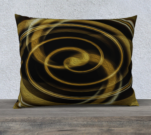 """Dimensional Paradox 6"" 26""x20"" Fine Art Pillowcase"