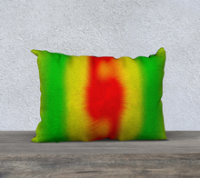 "Load image into Gallery viewer, ""Rasta Vibes 2"" - CT 20""x14"" Fine Art Pillow Case"
