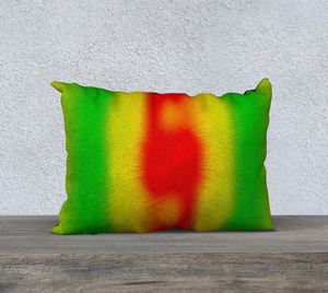 """Rasta Vibes 2"" - CT 20""x14"" Fine Art Pillow Case"