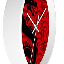 "Load image into Gallery viewer, ""Asian Reflections 3"" 10"" Fine Art Wall Clock"