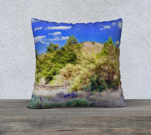 """A Place of Serenity II"" 22""x22"" Fine Art Pillow Case"