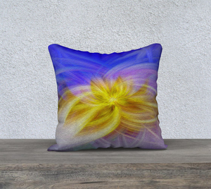 """Convergence III"" 18""x18"" Fine Art Pillow Case"
