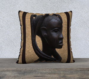 """Heritage 2"" 22""x22"" Fine Art Pillow Case"