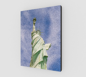 """Lady Liberty"" Fine Art Canvas"