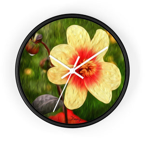 """Morning Dew 1"" 10"" Fine Art Wall Clock"